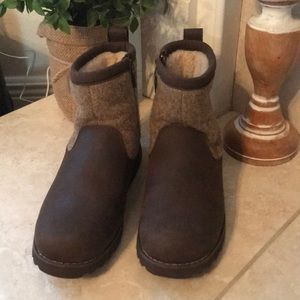 UGG Brown Bayson II Pull On Boots